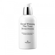 осветляющий тоник против пигментации the skin house crystal whitening plus toner