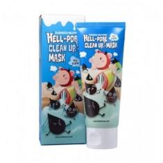 маска-пленка для очищения пор elizavecca hell-pore clean up mask