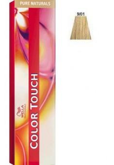 WELLA PROFESSIONALS 9/01 краска для волос, очень светлый блонд песочный / Color Touch 60 мл