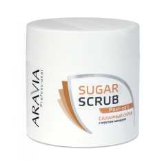 ARAVIA Скраб сахарный с маслом миндаля 300 мл