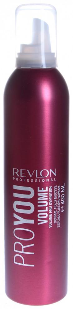 REVLON PROFESSIONAL Мусс нормальной фиксации для объема / PRO YOU VOLUME 400 мл