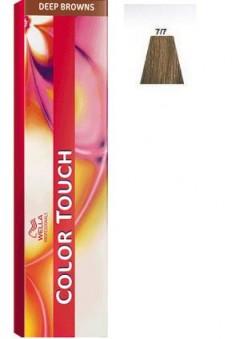 WELLA PROFESSIONALS 7/7 краска для волос, блонд коричневый / Color Touch 60 мл