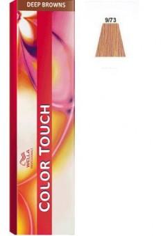 WELLA PROFESSIONALS 9/73 краска для волос, очень светлый блонд коричнево-золотистый / Color Touch 60 мл