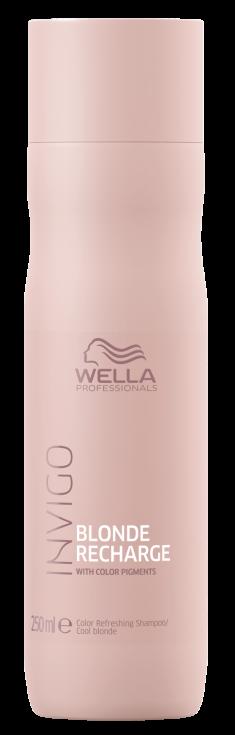 WELLA PROFESSIONALS Шампунь-нейтрализатор желтизны для холодных светлых оттенков / Blonde Recharge 250 мл