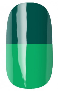RUNAIL 2952 гель-лак термо, сине-зеленый - салатовый / Thermo 7 мл