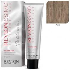 REVLON PROFESSIONAL 7.01 краска для волос, блондин пепельный / RP REVLONISSIMO COLORSMETIQUE 60 мл
