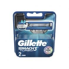 GILLETTE Сменные кассеты для бритвы Mach3 Turbo 8 шт.