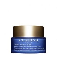 CLARINS Ночной крем для предотвращения первых возрастных изменений с обновляющим действием для нормальной и комбинированной кожи MULTI-ACTIVE 50 мл