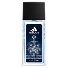 ADIDAS UEFA Champions League Champions Edition Refreshing Body Fragrance Освежающая парфюмированная вода для мужчин, спрей 75 мл