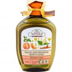 Зеленая аптека масло для ванны и душа Мандарин/корица 250 мл ЗЕЛЕНАЯ АПТЕКА