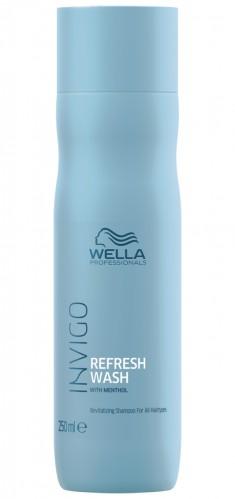 Wella Invigo Balance Refresh Wash оживляющий шампунь для всех типов волос 250мл