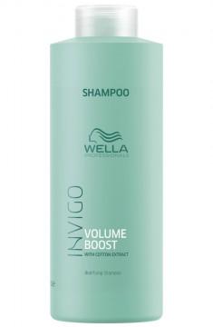 Wella Invigo Volume Boost Шампунь для придания объема 1000мл