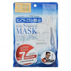 Japan Gals Маска с гиалуроновой кислотой Pure5 Essential 7 шт