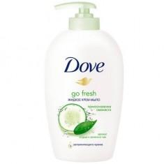 Dove жидкое крем-мыло Прикосновение свежести 250мл