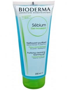 Биодерма (Bioderma) Себиум Очищающий мусс для жирной и проблемной кожи 200 мл