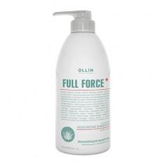 Ollin Professional FULL FORCE Увлажняющий шампунь против перхоти с экстрактом алоэ 750мл