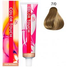 Wella Color Touch Тонирующая крем-краска без аммиака 7/0 блонд 60мл