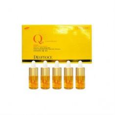 Сыворотка ампульная с коэнзим Q10 для лица, 5 шт.*10 мл (Deoproce)