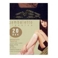 Гольфы женские OMSA GAMBALETTO CLASSICO 20 den Caramello 2 пары