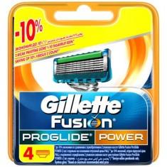 Кассеты для станка GILLETTE FUSION PROGLIDE POWER 4 шт