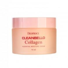 увлажняющий коллагеновый крем от морщин deoproce cleanbello collagen essential moisture cream