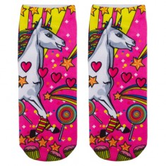 Носки женские SOCKS Big unicorn р-р единый