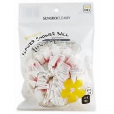 мочалка для душа sungbo cleamy flower shower ball