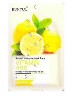 Тканевая маска с витаминами EUNYUL Natural moisture mask pack vitamin 23мл