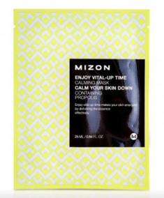 Тканевая маска успокаивающая MIZON Enjoy Vital Up Time Calming Mask