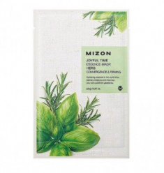 Тканевая маска с травяными экстрактами MIZON Joyful Time Essence Mask Herb