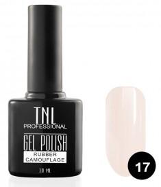 TNL PROFESSIONAL 17 гель-лак камуфлирующий для ногтей / rubber camouflage 10 мл