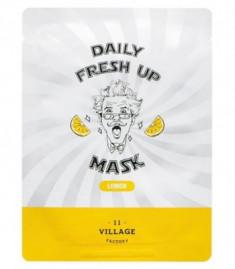 Маска с экстрактом лимона VILLAGE 11 FACTORY Daily Fresh up Mask Lemon