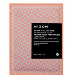 Тканевая антивозрастная маска MIZON Enjoy Vital Up Time Anti Wrinkle Mask