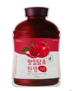 Тканевая маска с экстрактом граната A'PIEU Fruit Vinegar Sheet Mask Pomegranate