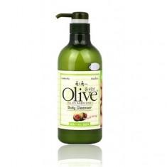 гель для душа с экстрактом оливы расслабляющий welcos olive body cleanser