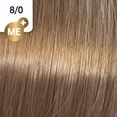WELLA PROFESSIONALS 8/0 краска для волос, светлый блонд натуральный / Koleston Perfect ME+ 60 мл