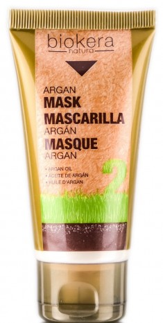 SALERM COSMETICS Маска с аргановым маслом для волос / BIOKERA Argan 50 мл