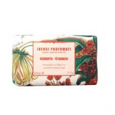 Натуральное мыло с белым чаем и осматусом, 200 г (Iteritalia)