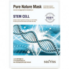 Маска тканевая со стволовыми клетками Anskin Secriss Pure Nature Mask Pack Stem cell 25мл