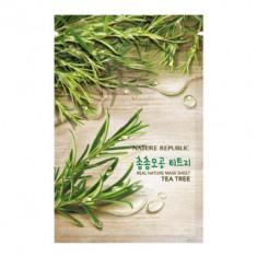 Маска для лица листовая NATURE REPUBLIC REAL NATURE TEA TREE MASK SHEET 23гр