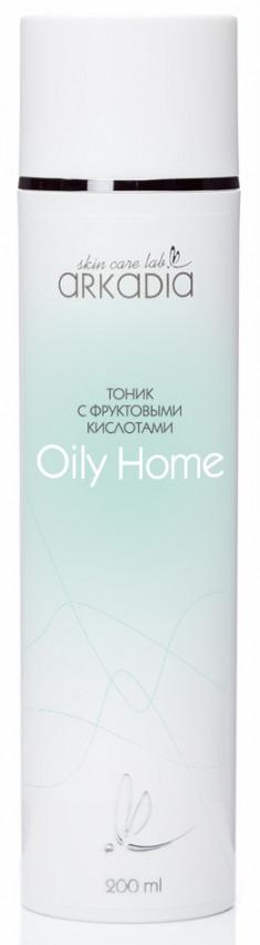 ARKADIA Тоник c фруктовыми кислотами / Oily Home 200 мл