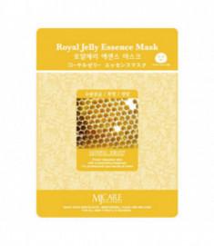 Маска тканевая маточное молочко Mijin Royal Jelly Essence Mask 23гр
