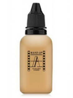 Тон-флюид водостойкий д/аэрографа Make-Up-Atelier 3Y натуральный золотистый, 30 мл Make-Up Atelier Paris
