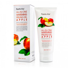 FarmStay, Гель All-in-one Whitening Apple, 180 мл