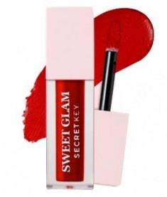 Тинт для губ вельветовый SECRET KEY Sweet Glam Velvet Tint 05 Deep Cherry 5г