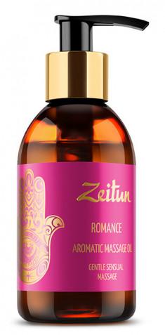 ZEITUN Масло ароматическое массажное Романтика (алая роза, сандал) 100 мл