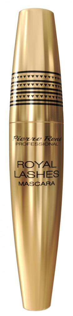 PIERRE RENE Тушь удлинение и утолщение ресниц, черная / Mascara Royal 15 мл PIERRE RENE PROFESSIONAL