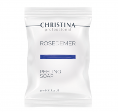 CHRISTINA Мыло пилинговое для лица / Rose de Mer Peeling Soap 30 мл