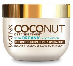 KATIVA Маска восстанавливающая с органическим кокосовым маслом для поврежденных волос / COCONUT 250 мл