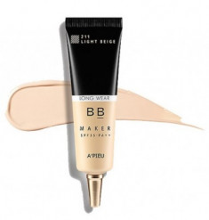 BB-крем стойкий A'PIEU BB Maker Long Wear SPF30/PA++ №21 Light beige Светлый беж 20г